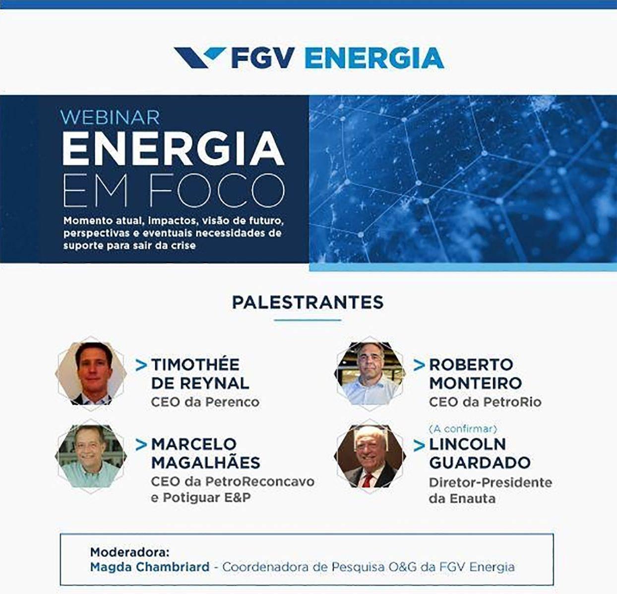 Marcelo Magalhães participa do webinar Energia em Foco